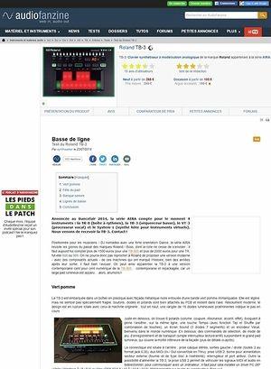 Audiofanzine.com Roland TB-3