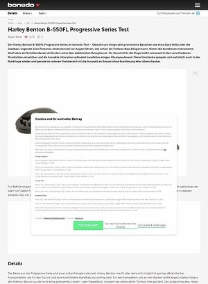 Bonedo.de Harley Benton B-550FL