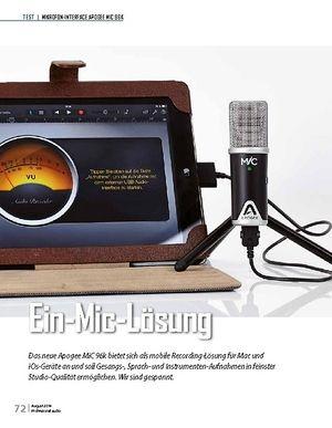 Professional Audio Apogee MiC 96k