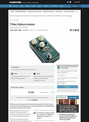 MusicRadar.com T-Rex Vulture