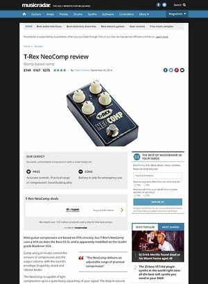 MusicRadar.com T-Rex Neo Comp