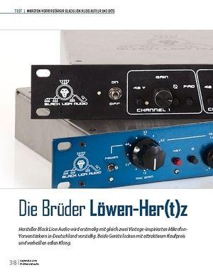 Professional Audio Die Brüder Löwen-Her(t)z