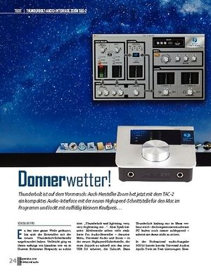 Professional Audio Donnerwetter!