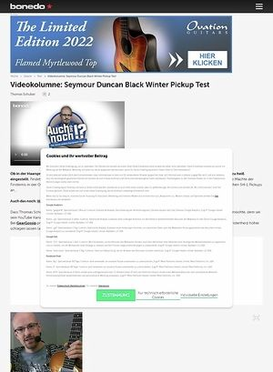 Bonedo.de Videokolumne #38: Marketinggeföhne