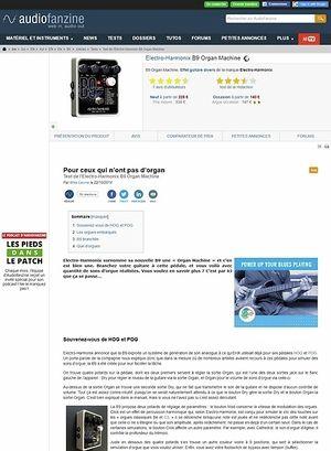 Audiofanzine.com Electro-Harmonix B9