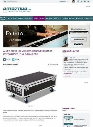 Amazona.de Special: Wie entsteht ein Thon Musiker-Case?