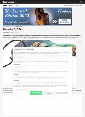 Bonedo.de Blackstar Fly 3