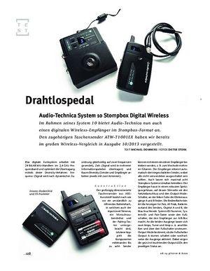 Gitarre & Bass Audio-Technica System 10 Stompbox Digital Wireless, Sendeanlage
