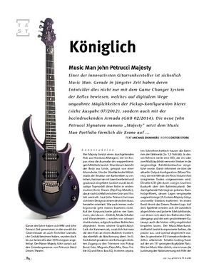 Gitarre & Bass Music Man John Petrucci Majesty
