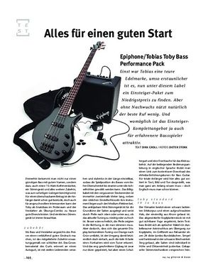 Gitarre & Bass Epiphone/Tobias Toby Bass Performance Pack