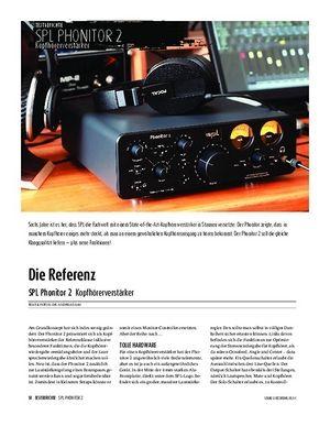Sound & Recording SPL Phonitor 2 - Kopfhörerverstärker