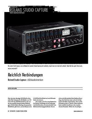 Sound & Recording Roland Studio Capture - USB-Audio/MIDI-Interface