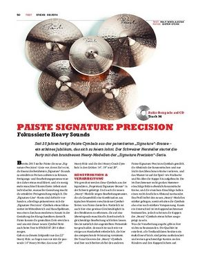 Sticks Paiste Signature Precision