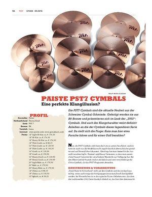 Sticks Paiste PST7 Cymbals