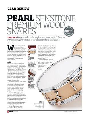 Rhythm Pearl Sensitone Premium Wood Snares
