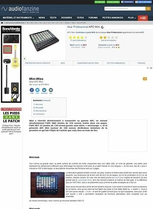 Audiofanzine.com Akai APC Mini