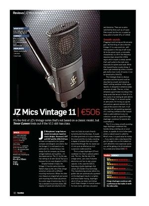 Future Music JZ Mics Vintage 11