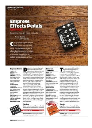 Guitarist Empress MultiDrive
