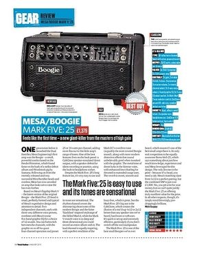 Total Guitar Mesa/Boogie Mark Five: 25
