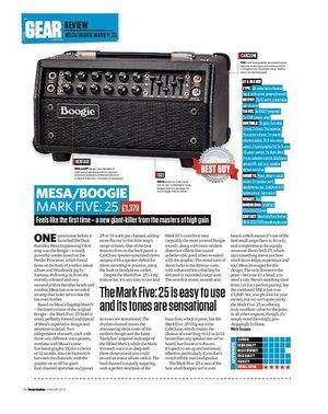 Total Guitar Mesa/Boogie Mark Five: 25