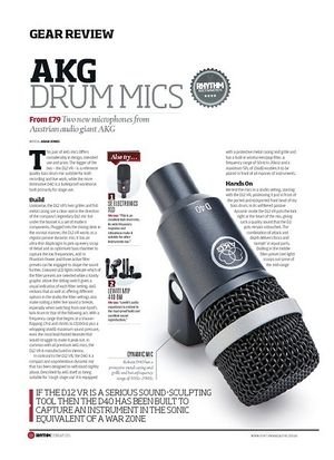 Rhythm AKG Drum Mics