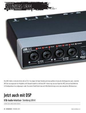 Sound & Recording Steinberg UR44 - USB-Audio-Interface