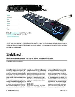 Sound & Recording Keith McMillen Instruments SoftStep 2 - Universal-USB Foot-Controller