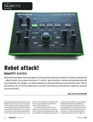 Keyboards Roland VT-3 - Multieffekt: Vocoder, Vocal-Processor und Synthesizer