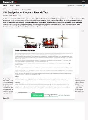 Bonedo.de DW Design Series Frequent Flyer Kit