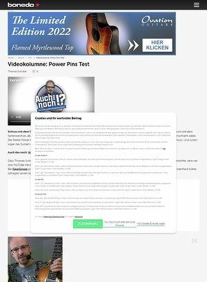 Bonedo.de Power Pins - Videokolumne #42: Pimp My Axe - Akustik Edition