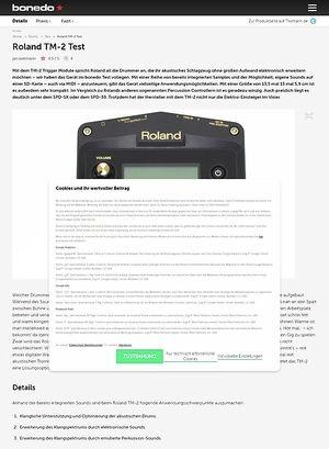 Bonedo.de Roland TM-2