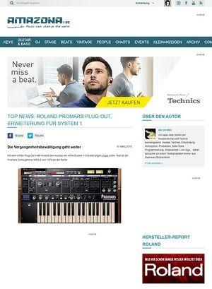 Roland System 1 Musikhaus Thomann