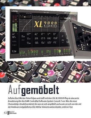 Professional Audio Softube SSL XL 9000 K