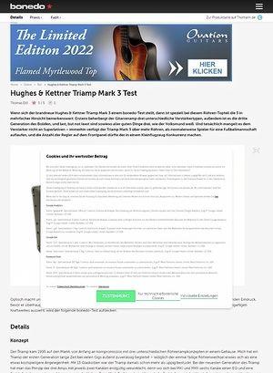 Bonedo.de Hughes & Kettner Triamp Mark 3