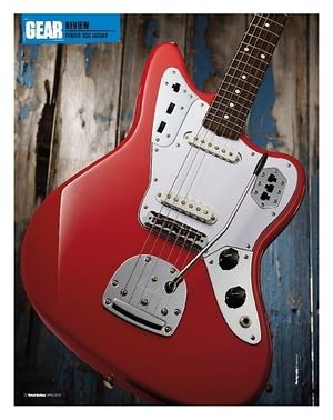 Total Guitar Fender Classic Series 60S Jaguar Lacquer