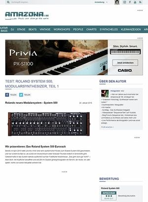 Amazona.de Roland System-500