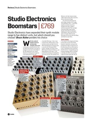 Future Music Studio Electronics Boomstars