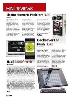 Future Music Electro-Harmonix Pitch Fork
