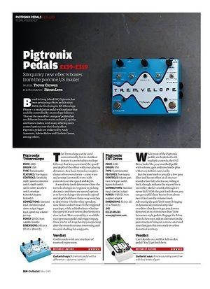 Guitarist Pigtronix Gate Keeper