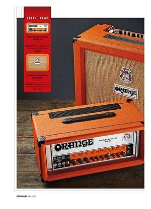 Guitarist Orange Rockerverb 50 MKIII 2x12 combo