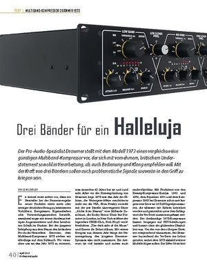 Professional Audio Drawmer 1973