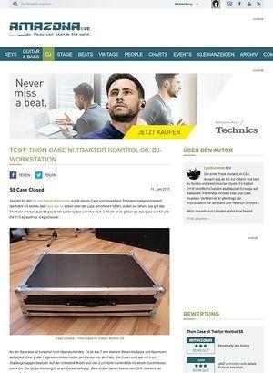 Amazona.de Test: Thon Case NI Traktor Kontrol S8, DJ-Workstation