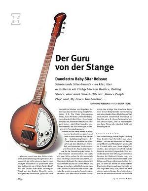 Gitarre & Bass Danelectro Baby Sitar Reissue