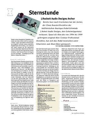Gitarre & Bass J.Rockett Audio Designs Archer