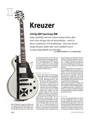 Gitarre & Bass LTD by ESP Iron Cross SW, E-Gitarre