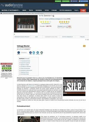 Audiofanzine.com M.F.B. Dominion 1