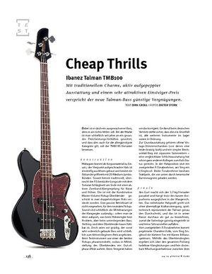 Gitarre & Bass Ibanez Talman, E-Bass