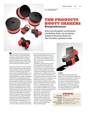 Sticks TNR Products Booty Shakers