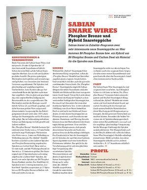 Sticks Sabian Snare Wires