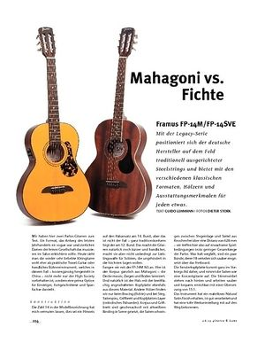 Gitarre & Bass Framus FP-14M/FP-14SVE, A-Gitarren